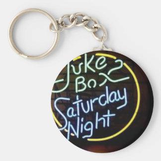 Porte-clés Signe au néon de juke-box