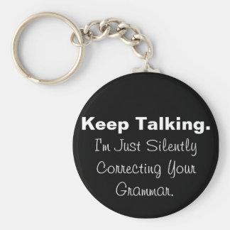 Porte-clés Silencieusement correction de votre porte - clé de