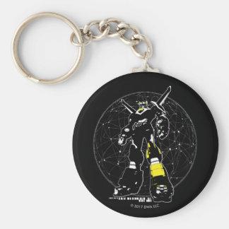 Porte-clés Silhouette de Voltron | au-dessus de carte