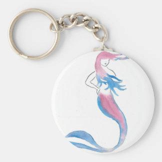 Porte-clés Sirène colorée