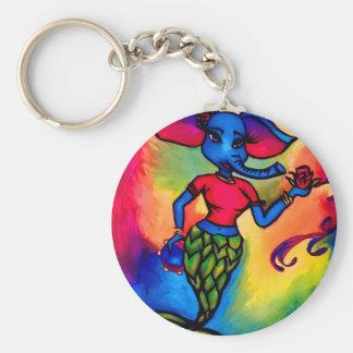 Porte-clés Sirène d'éléphant
