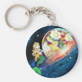 Porte-clés Sirènes dans l'espace