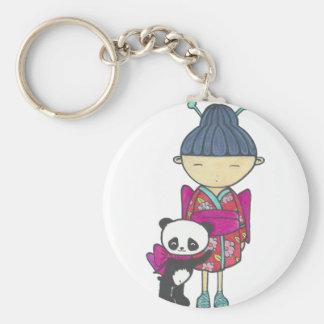 Porte-clés Sishu et bambou
