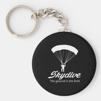 Porte-clés Skydive la terre est la limite