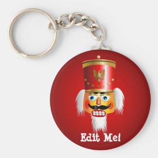 Porte-clés Soldat de jouet drôle de casse-noix