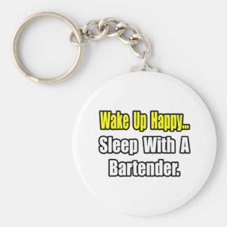 Porte-clés Sommeil avec un barman
