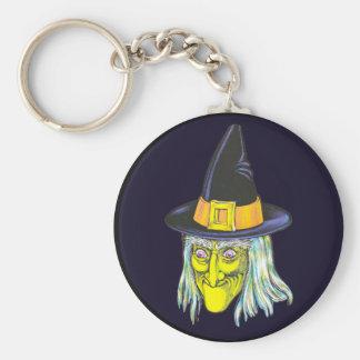 Porte-clés Sorcière classique de Halloween