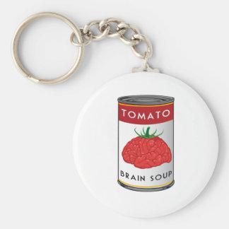Porte-clés soupe à cerveau