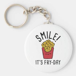 Porte-clés Sourire ! C'est Friture-Jour