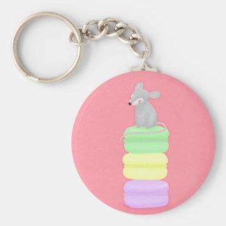 Porte-clés souris et porte - clé de macarons