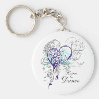 Porte-clés Soutenu pour danser le porte - clé (blanc)