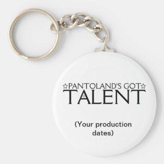 Porte-clés Souvenir obtenu du talent de Pantoland
