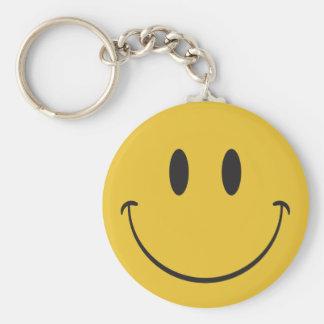 Porte-clés Soyez emoji de sourire heureux