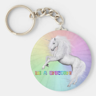 Porte-clés Soyez une licorne