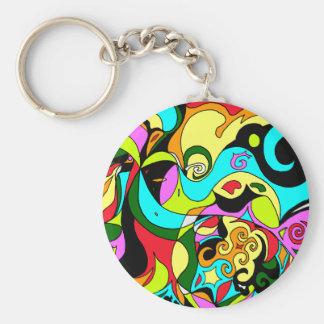Porte-clés Spirales