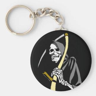 Porte-clés Squelette de récolte d'outil de faux de faucheuse