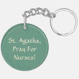 Porte-clés St Agatha (M 003)
