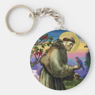 Porte-clés St Francis de porte - clé d'Assisi