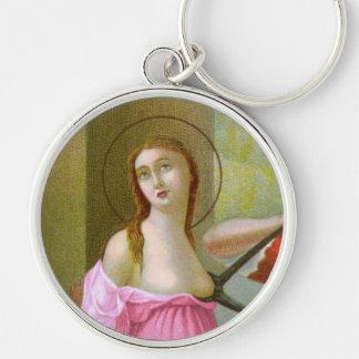 Porte-clés St rose Agatha (M 003)