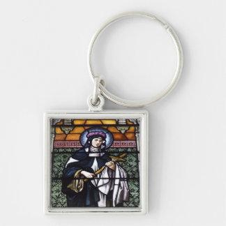 Porte-clés St Rose de Lima - priez pour le vitrail nous-souil
