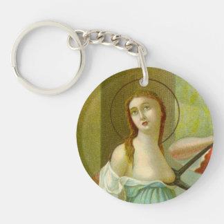 Porte-clés St simple Agatha (M 003) d'image