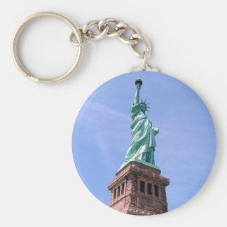 Porte-clés Statue de la liberté - porte - clé de vue de côté