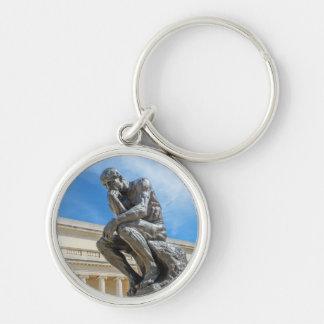Porte-clés Statue de penseur de Rodin