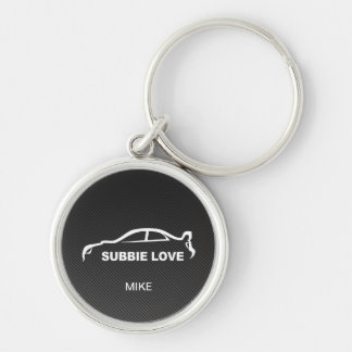 Porte-clés STI de Subbie avec la fibre de carbone de Faux