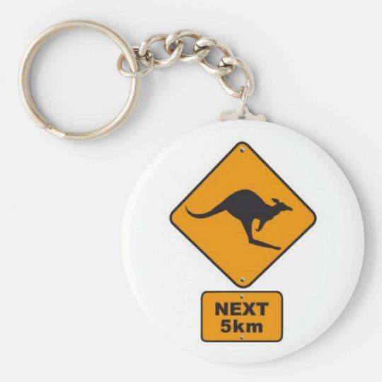 Porte-clés stickers_panneau_australie_kangourou_road_sign_024
