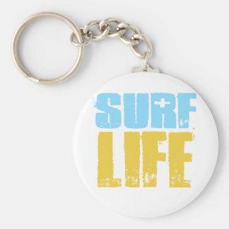 Porte-clés Style de surfer de plage de la vie de surf