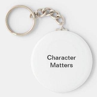Porte-clés Sujets de caractère