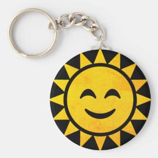 Porte-clés Sun de sourire Emoji