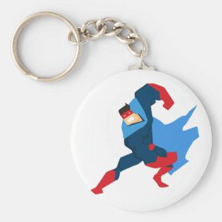 Porte-clés Super héros dans l'action