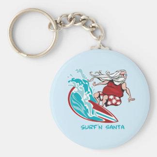 Porte-clés Surf'n Père Noël