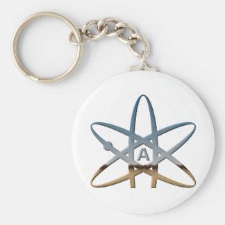 Porte-clés Symbole atomique athée de Logidea