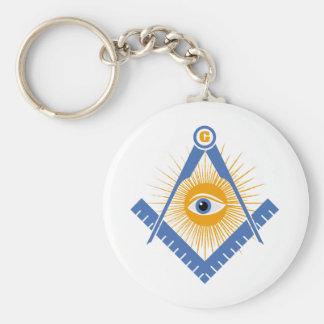 Porte-clés Symbole de franc-maçonnerie