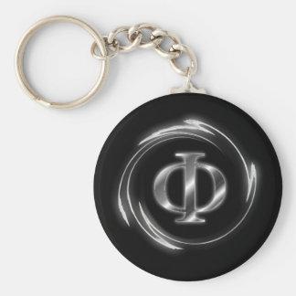 Porte-clés Symbole de phi