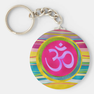 Porte-clés Symbole d'OM de parties scintillantes de Colorfull