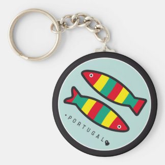 Porte-clés Symboles du Portugal - sardines