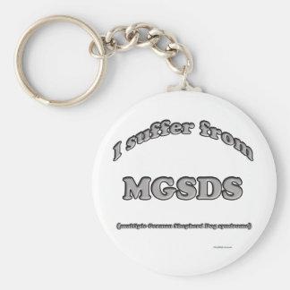 Porte-clés Syndrome de berger allemand - porte - clé