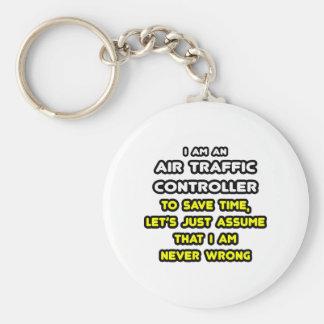 Porte-clés T-shirts drôle de contrôleur de la navigation