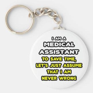Porte-clés T-shirts drôle et cadeaux d'aide médical