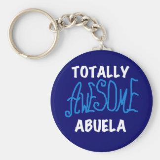 Porte-clés T-shirts et cadeaux bleus totalement