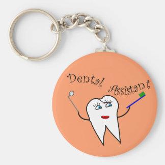 Porte-clés T-shirts et cadeaux d'assistant dentaire