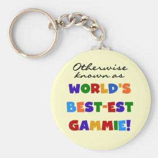Porte-clés T-shirts et cadeaux du Meilleur-est Gammie du