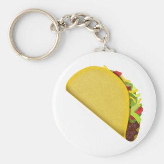 Porte-clés Taco Emoji