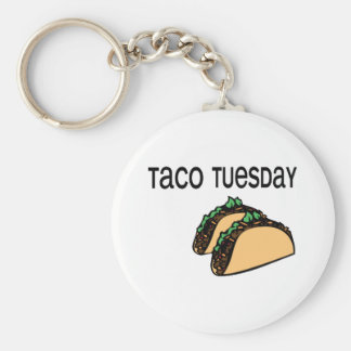 Porte-clés Taco mardi