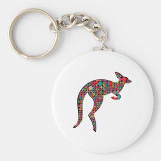 Porte-clés Tailles de kangourou