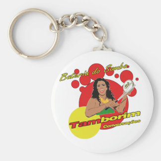 Porte-clés Tamborim Batucada de Samba