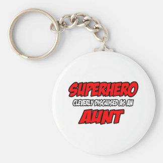 Porte-clés Tante de super héros…